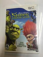 Shrek Forever After: The Final Chapter (Nintendo Wii, 2010) New Factory Sealed
