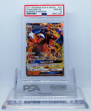Pokemon BURNING SHADOWS CHARIZARD GX #20/147 ULTRA RARE HOLO PSA 10 GEM MINT #*