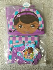 Disney Doc McStuffins, Hat, Scarf and Glove Set, Childrens Gift