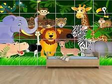 Enfants Jungle Baby Kids  POSTER MASSIVE HUGE ROOM KIDS