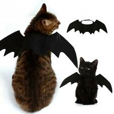 Pet Bat Halloween Costume Vampire Dress Outfit Wing For Cat Dog Animal Fancy