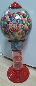 Vintage Large Gumball Coin Bank Vending BubbleGum Dispenser