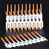 40 Pcs Dental Dual Toothpick Oral Interdental Cleaning Teeth Floss Gum Brush