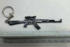 AK 47 Kalashnikov Keychain Black NRA Ak47 AK-47 Rifle Gun Free Shipping USA NEW