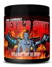 2x ML Nutrition Devil's Shot Extreme Hardcore Preworkout Booster Fitnesstraining