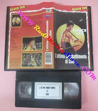 VHS film L'ULTIMO COMBATTIMENTO DI CHEN Bruce Lee S03016 (F156) no dvd