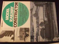 ** Model Railway Constructor March 1972  Kirkton / ex GNR type signal box