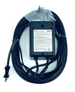 Malibu Landscape Low Voltage Dusk to Dawn Transformer ML44P & 50ft Wire 44 Watt
