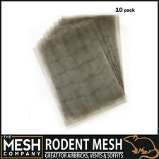 More details for stainless steel rodent airbrick vent mesh (1mm hole)  a4 & a5 sheets - uk made