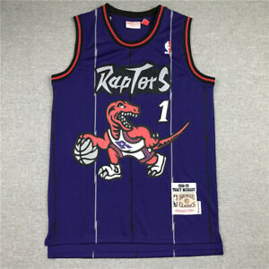 1# Tracy McGrady Toronto Raptors 1998-99 Classics Men's Swingman Jersey Purple