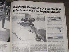 SHOOTING TIMES TESTS THE NEW WEATHERBY VANGUARD RIFLE + SKEETER ON PANCHO VILLA