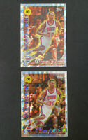 Lot of 2 Kerry Kittles Rookie Card 1996-97 Topps Draft Pick Redemption #DP8 Nets