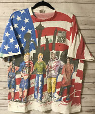See You At The Pole Voting American Flag Patriotic T Shirt Size Xl Vintage