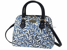 Signare Ladies Tapestry Handbag Shoulder Convertible Bag In Willow Design
