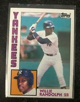 1984 Topps Willie Randolph #360 - New York Yankees     NM-MT