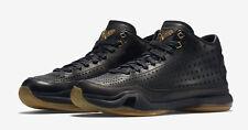 2016 Nike Kobe X 10 Mid Ext SZ 8 Black Metallic Gold Gum Bottom 802366-002