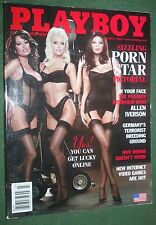 Playboy March 2002 POM Tina Jordan Porn Stars Jamie Foxx Allen Iverson interview
