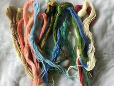 Crewel Embroidery Wool Bulk Lot Various colours