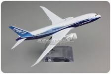 20CM Solid BOEING 787-8 Passenger Airplane Metal Plane Diecast Aircraft Model