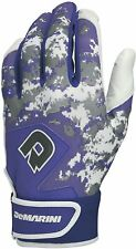 New DeMarini Digi Camo II Adult Batting Gloves Purple/Camo XX-Large