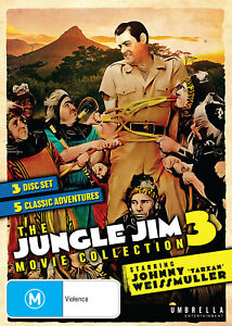 The Jungle Jim Movie Collection 3 (DVD) NEW/SEALED [All Regions]