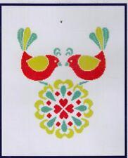 Love Birds  - DMC Cross Stitch Kit - good for beginners