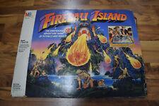 Fireball Island Game Vintage 1986 MB OrigInal Incomplete See Description Photos
