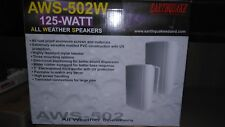 EARTHQUAKE SOUND AWS-502W All-Weather Indoor/Outdoor Pair (Matte White)