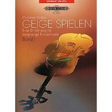 C.f. Peters Violin Spielen 1