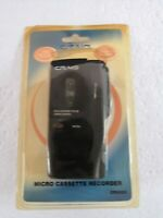 Craig Micro Cassette Voice Recorder with LED Recording Indicator CR8003