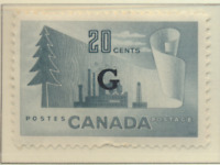 Canada Stamp Scott #O30, Mint Hinged