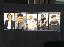One 1 Direction 1D Concert Tour black T Shirt sz L large Boy Band