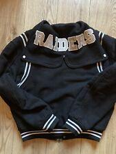 Vintage Los Angeles Raiders Varsity Jacket Size 3.(M) Chalk Line.