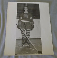 Original Late 1940's AHL Doug Lewis Buffalo Bisons Hockey Photo