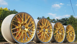 ⚠️ BBS Speedline RS GOLD 8,5Jx19 66,6mm Audi 5x112 BMW G30 G32 Mercedes W212