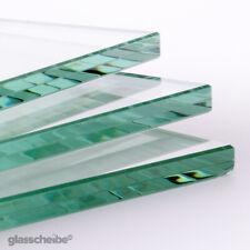 VSG Glas nach Maß Klarglas 8mm Zuschnitt Glasplatte Glasscheibe Wunschmaß Glas