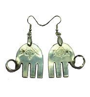 Elephant Spoon Earrings 1929 Lady Doris Princess Vintage Antique Silverware