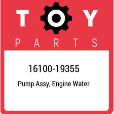 16100-19355 Toyota Pump assy, engine water 1610019355, New Genuine OEM Part