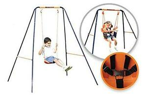 Hedstrom 2 In 1 Kids Toddlers Garden Swing Baby Chair & Seat Playground Activity