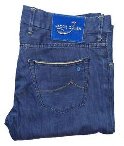 """Men's JACOB COHEN Rare *LIMITED EDITION* 165/207 Tailored Jeans W36"""" L32"""" *VGC*"""