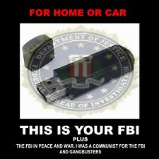 THIS IS YOUR FBI OLD TIME RADIO SHOWS PLUS MORE. 654 FBI SHOWS FOR CAR OR HOME!