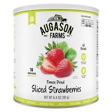 Augason Farms Gluten Free Freeze Dried Sliced Strawberries Emergency Food - 6...
