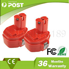 2 x High Quality 14.4V 1.3Ah Battery for Makita Cordless Drill 1420,1422,PA14,AU