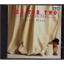LONDON BRASS - Tea for two - BARTOK SCHUBERT DVORAK CD 1988 USATO OTTIME COND