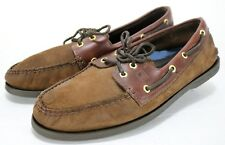 Sperry Top-Sider Authentic Original $95 Men's Boat Shoes Size 11.5 Leather Brown