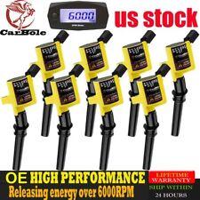8 OE Blaster Fire Premium DG508 Ignition Coils Pack For Ford 4.6/5.4/6.8L V8 V10