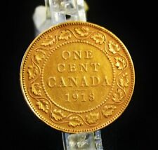 1918  One Cent Coin   -   Canada