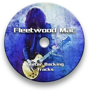 Fleetwood Mac Style Rock Guitar Rehearsal Backing Track Collection CD
