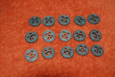 G Lego Lot 15 Technic Mindstorm Gears Dark Bluish Gray 24 Tooth 3648 Guc