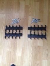 Pack of 20 nylon End Locks & rivets for roller shutters(Left/Right)